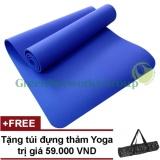 Bán Thảm Yoga Gia Rẻ Greennetworks Tpe 8Mm 1 Lớp Kem Tui Xanh Co Ban Trong Hồ Chí Minh