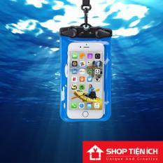 Hình ảnh Túi chống nước 100% cho điện thoại 6 inch (Khóa tam giác cao cấp)