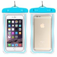 Hình ảnh Túi chống nước an toàn cho điện thoại Iphone 5/6/6Plus_Xanh da trời