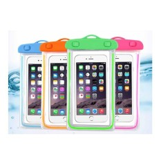 Hình ảnh Túi chống nước an toàn cho điện thoại - viền phát quang