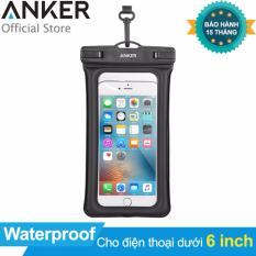 Hình ảnh Túi chống nước ANKER Waterproof Case cho điện thoại dưới 6 inch (Trong suốt) - Hãng Phân Phối Chính Thức