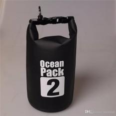 Hình ảnh Túi chống nước tuyệt đối 100% - 2L đựng đồ đi biển, dã ngoại, đeo chéo vai, đồ thể thao chuyên dụng cao cấp - POKI