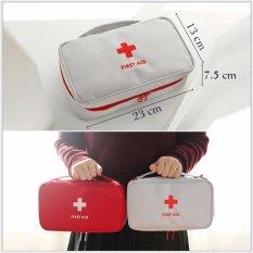 Hình ảnh Túi đựng đồ y tế cá nhân - màu đỏ