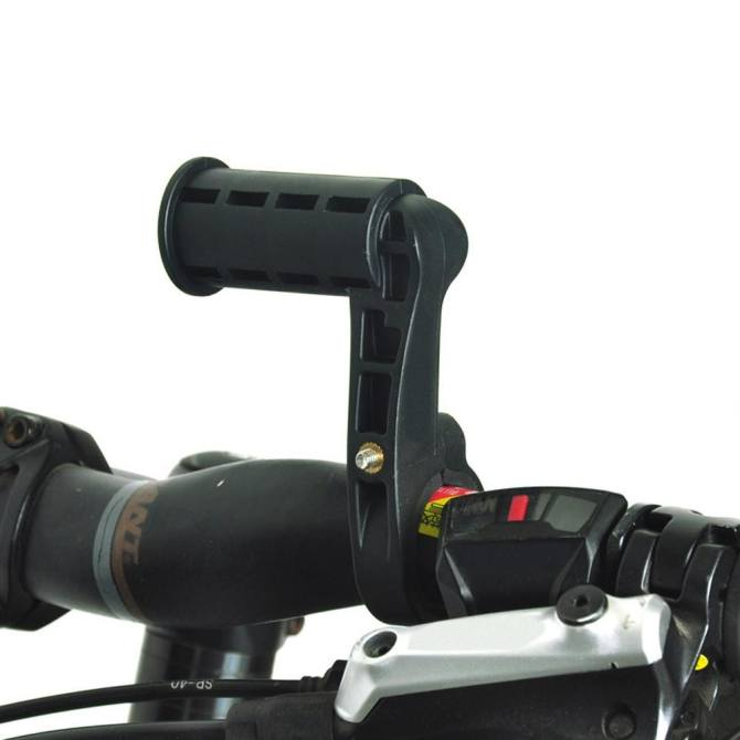 Universal Mount for Bike Computers Lights & Handlebar Mounted Accessories - intl