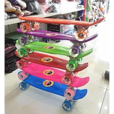Giá bán Ván nhựa nhỏ Penny Skateboards (bánh có đèn)