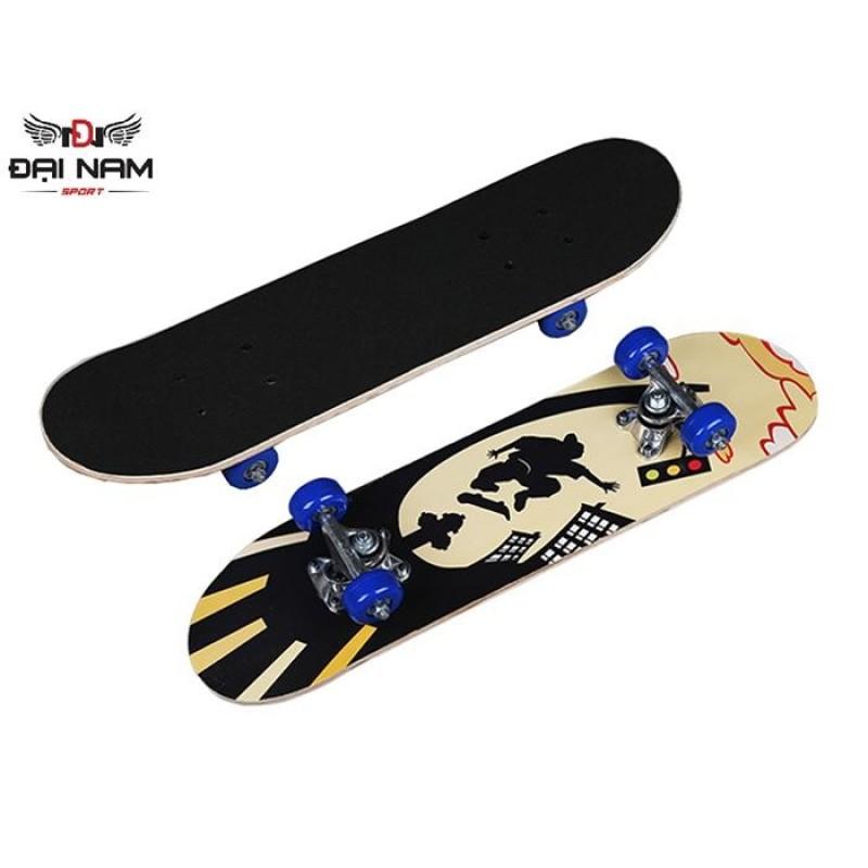 Giá bán Ván trượt đường phố Skateboard dòng cao cấp (Mặt nhám cỡ nhỏ)