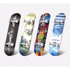 Giá bán Ván trượt người lớn Skateboard cao cấp Đại Nam Sport (mặt nhám bánh cao su)