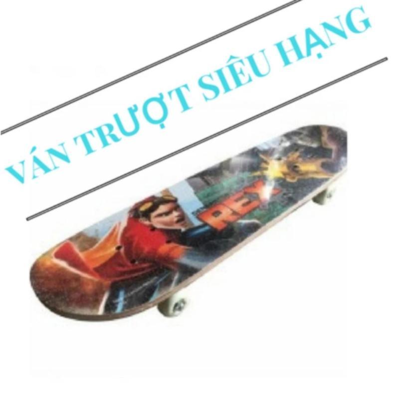 Ván trượt skate board loại lớn theo tiêu chuẩn thi đấu