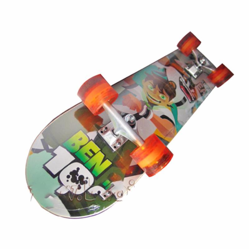 Giá bán Ván trượt Skateboard cao cấp bánh xe phát sáng-Đạt chuẩn thi đấu