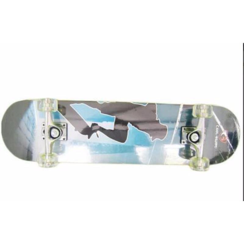 Ván trượt skateboard cỡ lớn (Bánh cao su trong)