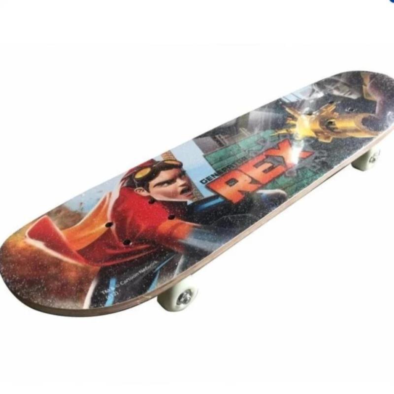 Ván trượt Skateboard nhập khẩu cao cấp cớ lớn 2018 bánh cao su + KAMA