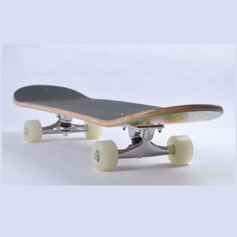 Giá bán Ván trượt thể thao cao cấp Skateboard cỡ lớn bánh cao su đục mẫu mới nhất 2021