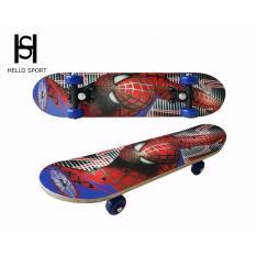 Hình ảnh Ván Trượt Trẻ Em Skate Board Người Nhện