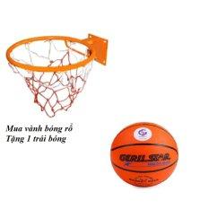 Hình ảnh Vành bóng rổ 40 cm + Tặng quả bóng rổ