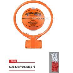 Hình ảnh Vành bóng rổ 40cm + Bóng rổ gerustar số7