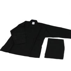 Hình ảnh Võ phục quần áo dưỡng sinh màu đen giá rẻ