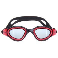 Hình ảnh Chống nước HD Chống sương mù Mắt Kính Unisex Mắt Kính Bơi Đồng Bằng Kính Kính (Màu Đỏ)-quốc tế