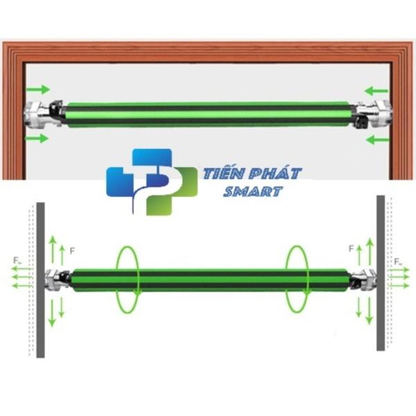 Bảng giá Xà đơn treo tường 2018 điều chỉnh 83-130 cm  có chốt an toàn -Tienphatsmart(Hà Nội)