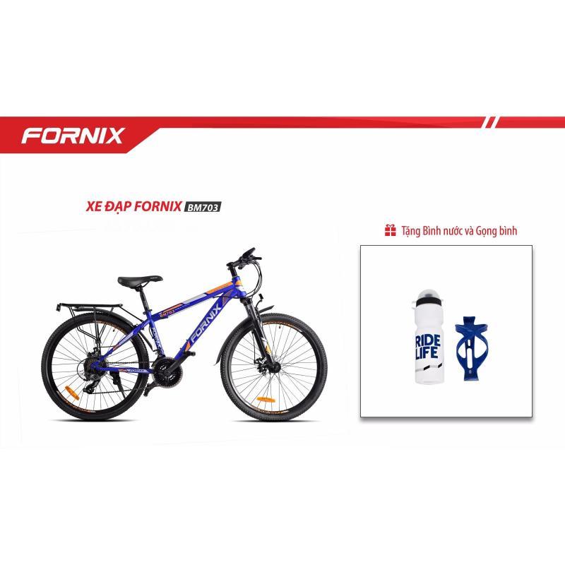Mua Xe đạp địa hình FORNIX BM703 (xanh cam) + tặng Gọng- bình nước