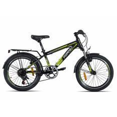 Xe đạp địa hình trẻ em FORNIX, mã MS207 (Đen xanh lá)