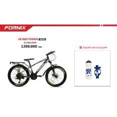 Xe đạp địa hình FORNIX MS50 (Đen bạc ) + tặng bình và gọng bình nước