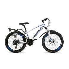 Xe đạp địa hình FORNIX - MS50 (G2) (Trắng xanh)