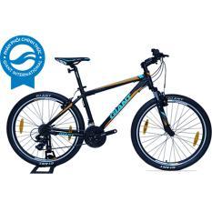 Xe đạp địa hình GIANT Rincon - Size S (Đen/Cam/Xanh da trời)