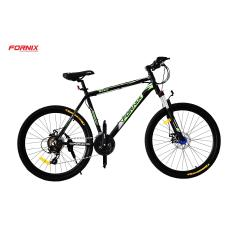 Xe đạp địa hình thể thao Fornix M600 (Đen xanh lá)