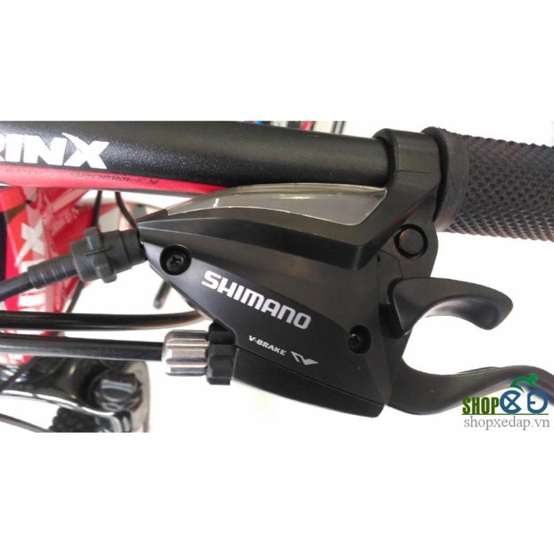 Mua Xe đạp địa hình TrinX TX20 2017 (Đen xám đỏ)