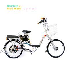 Xe đạp điện  BMX khung nhôm   18  inch ( bánh mâm )