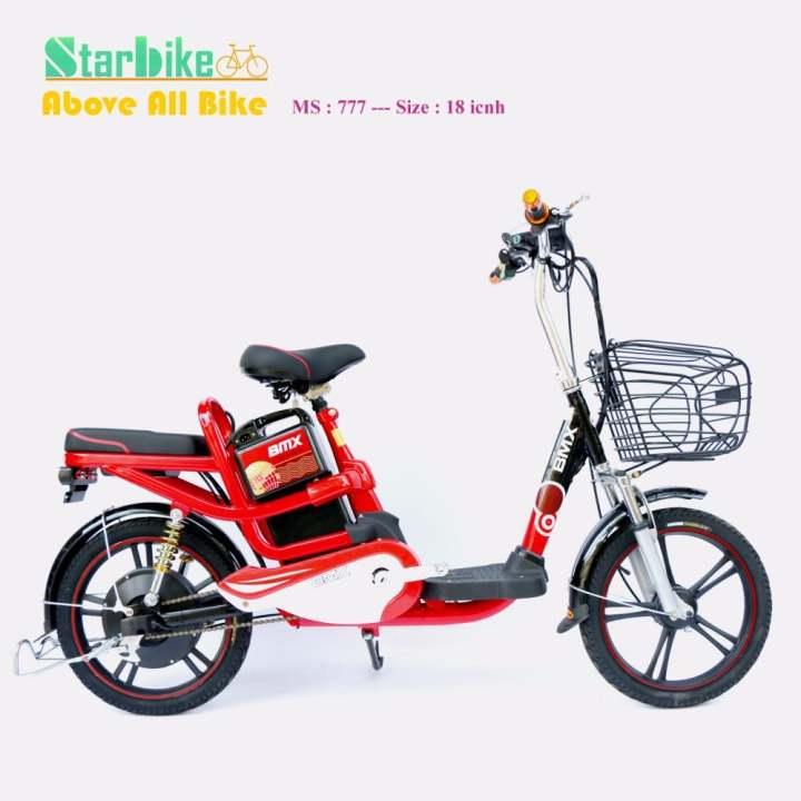 Xe đạp điện BMX khung sơn 18 inch (Bánh mâm)