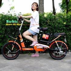 Mua Xe đạp điện  BMX STAR- AZI nhún  khung sơn  18inch ( Bánh mâm )