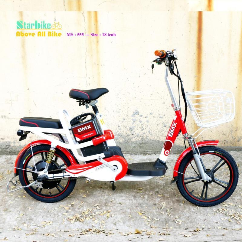 Mua Xe đạp điện  BMX Super  nhún  sau   18  inch ( bánh mâm )