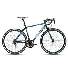 Xe đạp đua TRINX TEMPO1.0 2017 Đen xanh dương