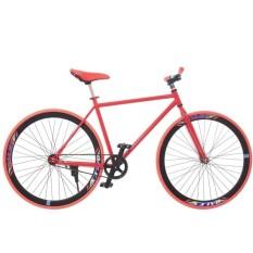 Xe đạp Fixed Gear Single (Đỏ phối đen)