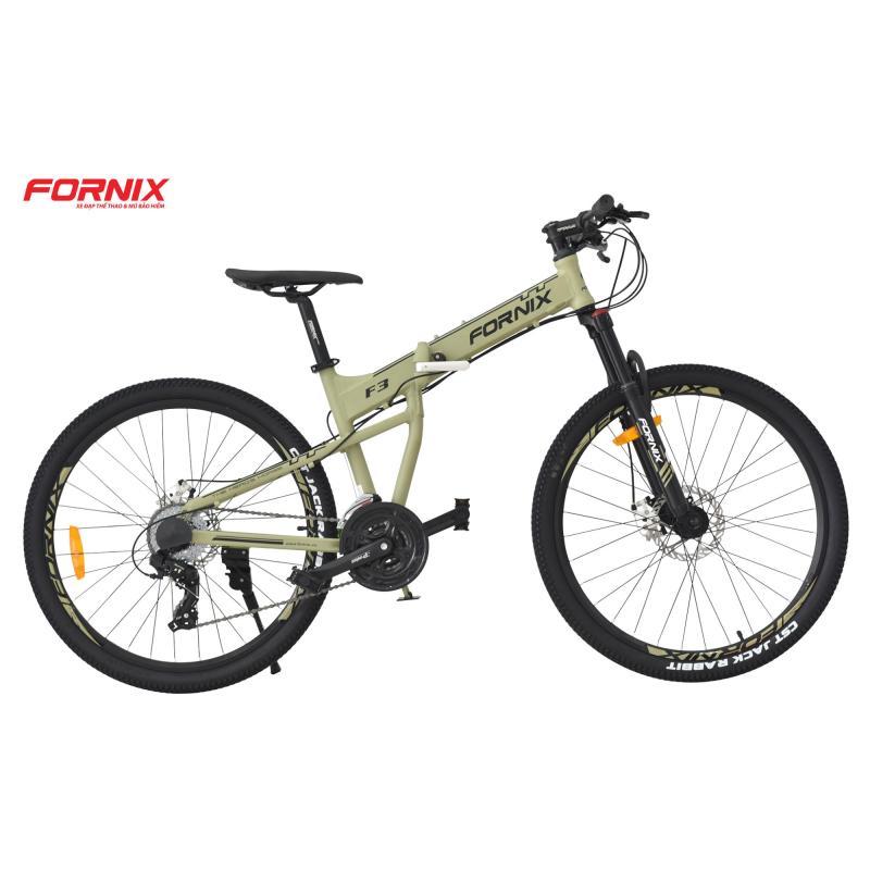 Mua Xe đạp gấp địa hình thể thao Fornix F3 (Xanh rêu)