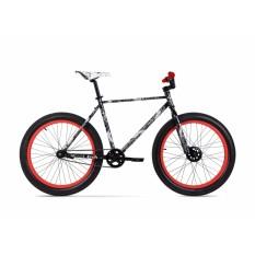 Mua Xe Đạp Jett Cycles Krash Căm xe 32 căm x 14g ED-Black với đầu căm UCP, tay lái jett fixed up right bar - 580mm (Đen)