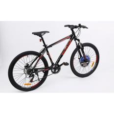 Xe đạp leo núi Dunlop CTB-DLP-143 124 x 20 x 78 cm (Đen Đỏ)