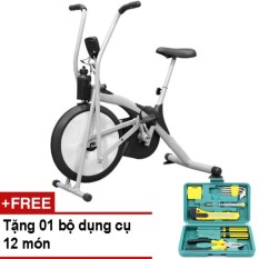Hình ảnh Xe đạp tập thể dục Air Bike + Tặng bộ dụng cụ 12 món