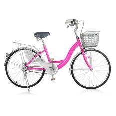 Xe đạp thành phố Sportslink Toseco New 2017 cao cấp (Hồng)