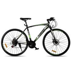 Hình ảnh Xe đạp thể thao hiệu FORNIX BT301 ( đen xanh lá )