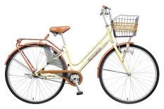 Xe đạp thời trang Asama CLD PU27 (Kem)