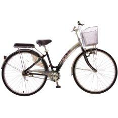 Xe đạp thời trang Asama @ Nhôm (Đen)