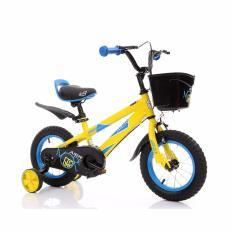 Xe đạp trẻ em Aier 7 cỡ 14 inch (Vàng)