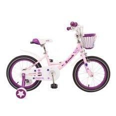 Xe đạp trẻ em Stitch JK 909 Angel 16 (Hồng phối tím)