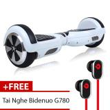 Mua Xe Điện Thăng Bằng Thong Minh Smart Drifting Scooter Trắng Tặng Tai Nghe Bidenuo G780 Rẻ Vietnam