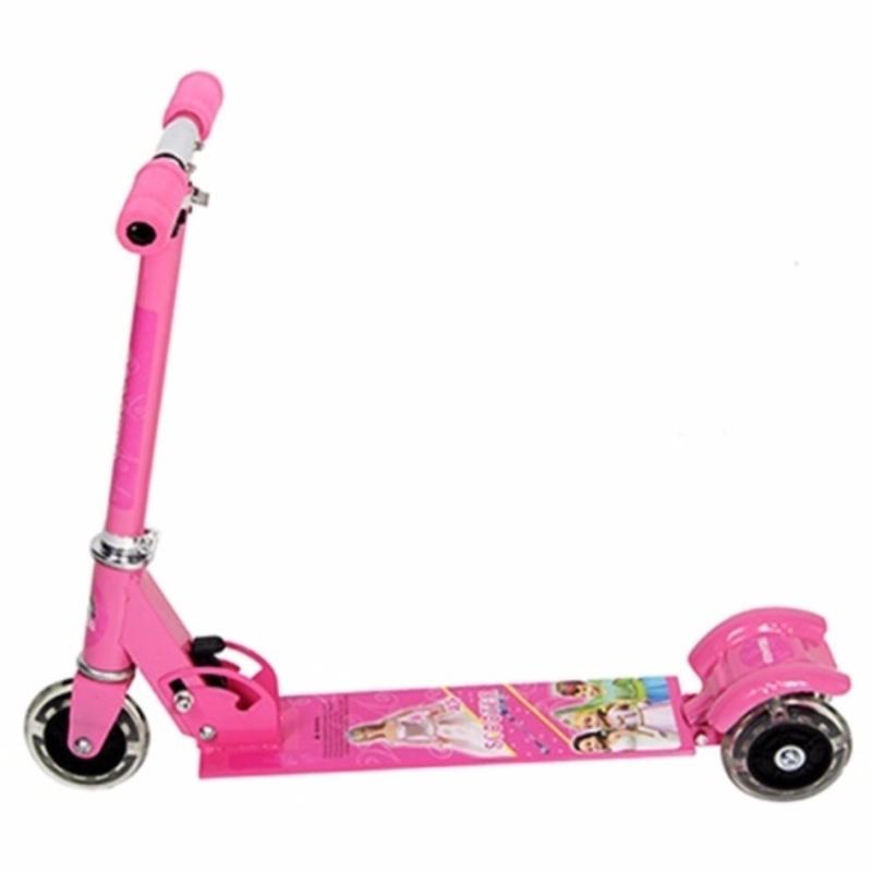 Mua Xe trượt Scooter 3 bánh trẻ em(màu hồng)