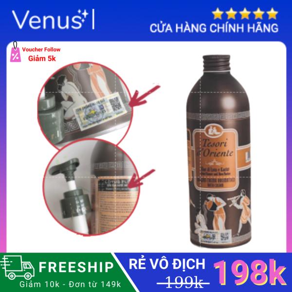 [HÀNG CHÍNH HÃNG] Sữa tắm Hương nước hoa Tesori 500ml