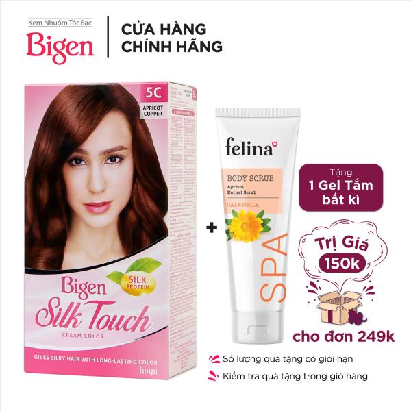 Thuốc nhuộm tóc phủ bạc Bigen Silk Touch Sắc Màu trẻ trung 80ml
