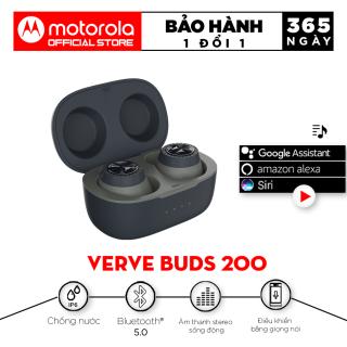 Tai nghe bluetooth không dây TWS 2in1 - Motorola - VerveBuds200- Âm thanh sống động- Thời gian chơi nhạc lên đến 10h thumbnail